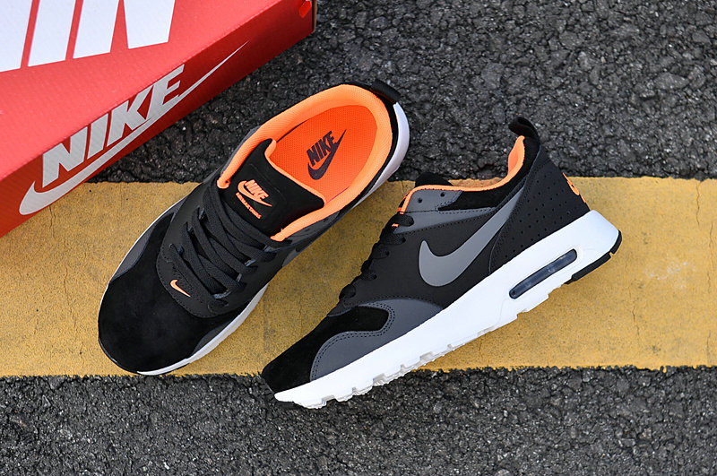 Wholesale Cheap Air Maxs Nike Air Max 87 Mens Orange Grey White Black 2018 New Arrival - www.wholesaleflyknit.com