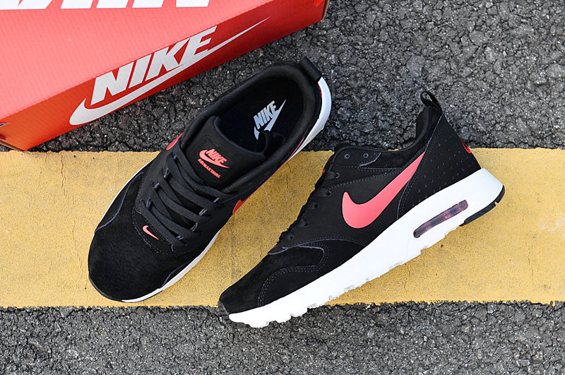 Wholesale Cheap Air Maxs Nike Air Max 87 Mens Pink Black White 2018 New Arrival - www.wholesaleflyknit.com