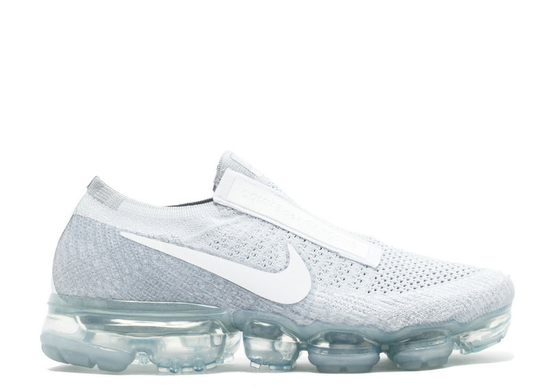Wholesale Cheap Air VaporMax Nike Nike Air VaporMax FK CDG Pure Platinum White Wolf Grey - www.wholesaleflyknit.com