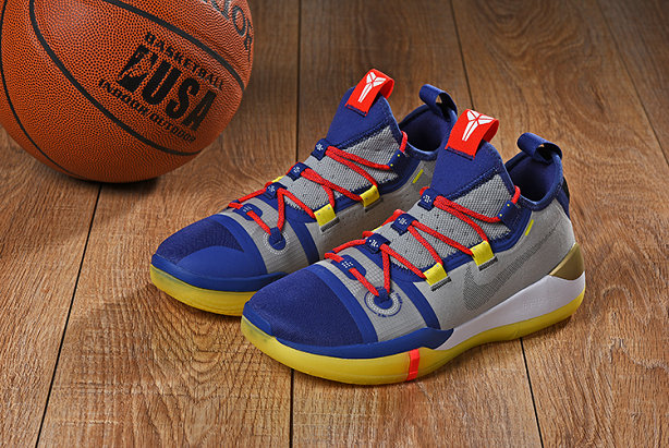 Wholesale CHEAP NIKES KOBE AD MAMBA DAY BLUE RED GERY YELLOW-www.wholesaleflyknit.com