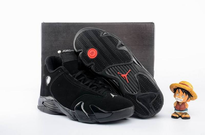 Wholesale Cheap Air Jordan 14 All Black Shoes - www.wholesaleflyknit.com