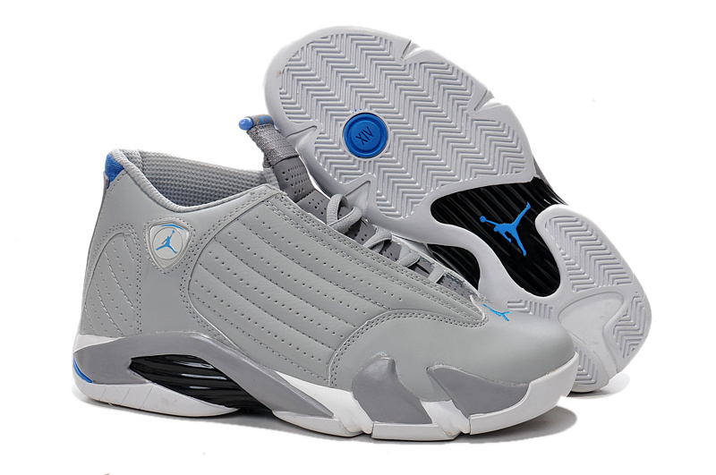 Wholesale Cheap Air Jordan 14 Sport Blue Wolf Grey White-Sport Blue - www.wholesaleflyknit.com