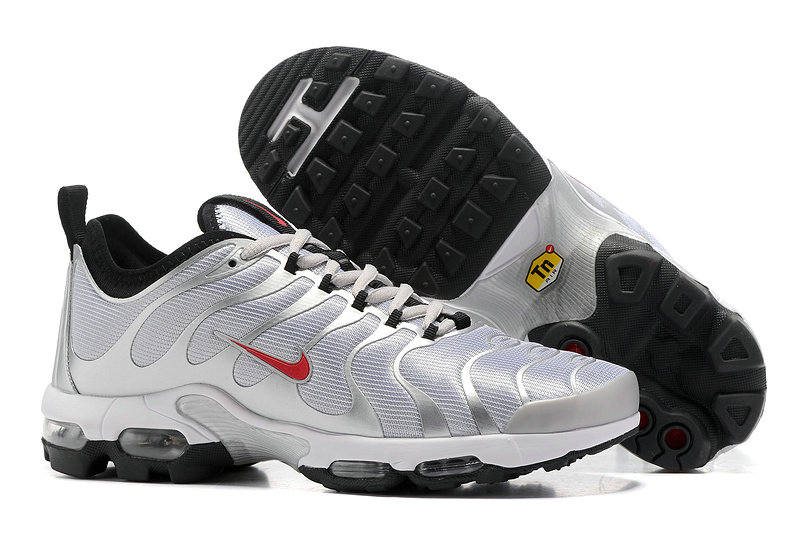 Wholesale Cheap Sale Nike Air Max TN Ultra Mens Grey Black Red - www.wholesaleflyknit.com