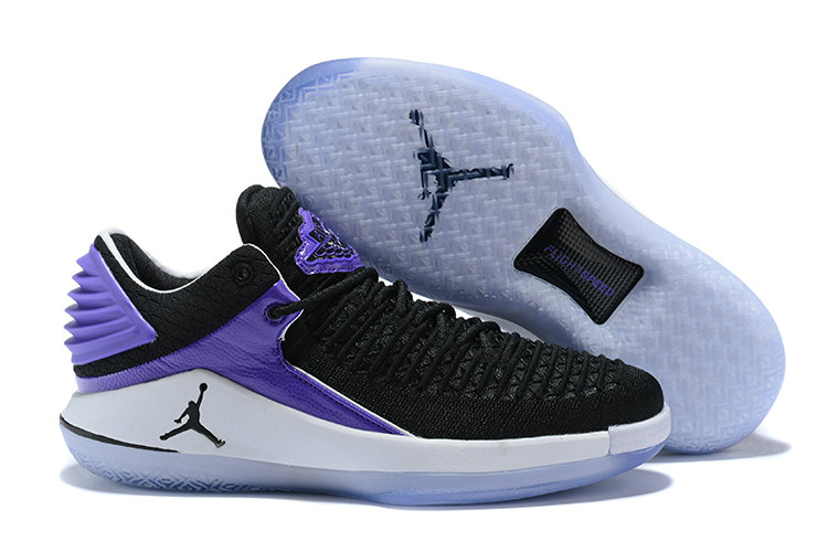 New 2018 Air Jordans Cheap Wholesale x Air Jordan XXX2 Purple Black White - www.wholesaleflyknit.com