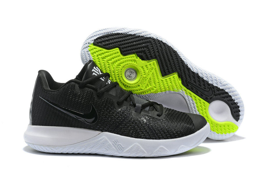 10588b61bf0 Wholesale Cheap Kyrie Irvings Nike Kyrie Flytrap Black White Green -  www.wholesaleflyknit.com