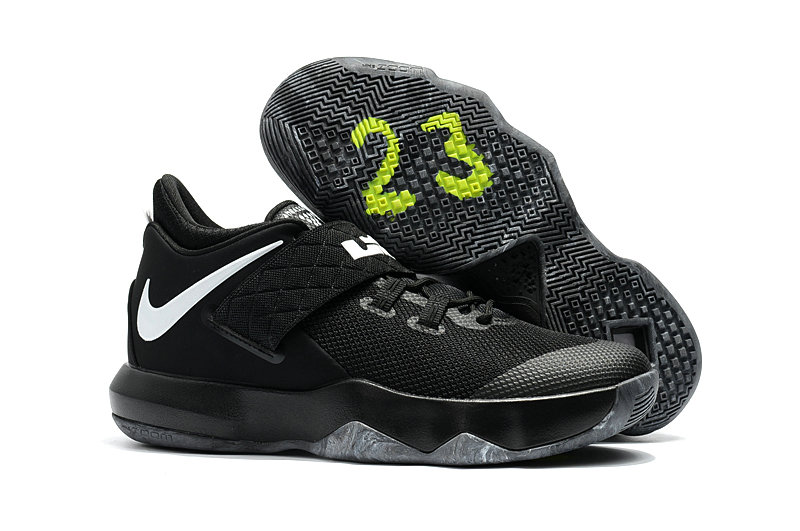 New 2018 Nike Lebron Cheap Wholesale x Nike LeBron Ambassador 10 Black White - www.wholesaleflyknit.com