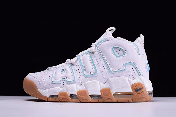 Wholesale Cheap Mens and WMNS Nike Air More Uptempo Ocean Bliss For Sale - www.wholesaleflyknit.com