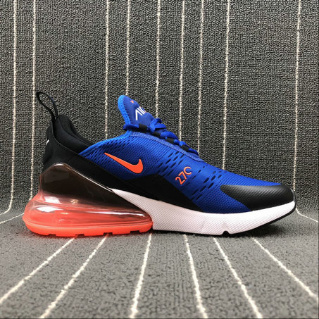 Cheap Wholesale Nike Air Max 270 Ah8050 401 Royal Blue Orange