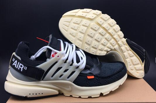 Wholesale Cheap NIKE OFF-WHITE x Nike Air Presto 2017 For Sale - www.wholesaleflyknit.com