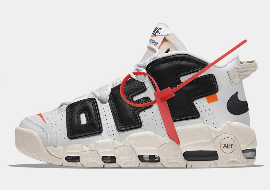 Wholesale Cheap NIKE OFF-White x Nike Air More Uptempo For Sale - www.wholesaleflyknit.com