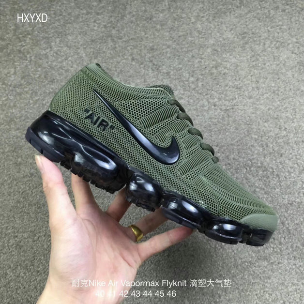 Wholesale Cheap Nike 2018 Nike Air 2018 Flyknit Army Green Black Running - www.wholesaleflyknit.com