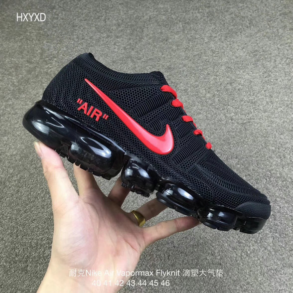 Wholesale Cheap Nike 2018 Nike Air 2018 Flyknit Red Black Running - www.wholesaleflyknit.com