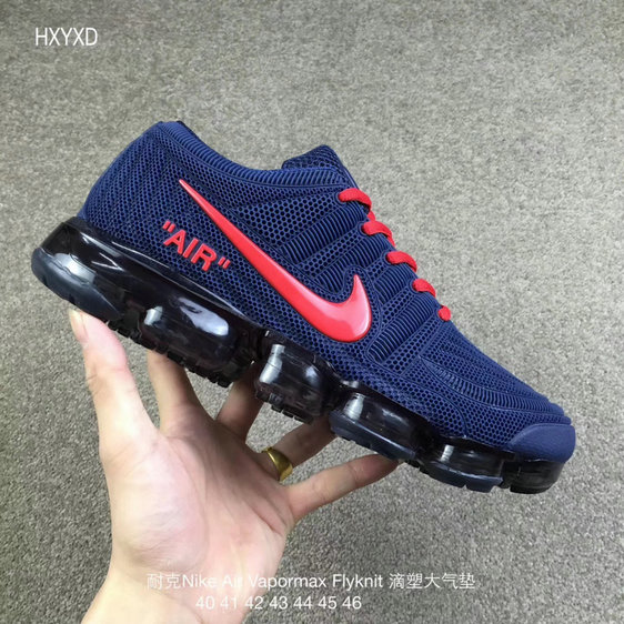 Wholesale Cheap Nike 2018 Nike Air 2018 Flyknit Red Royal Blue Running - www.wholesaleflyknit.com