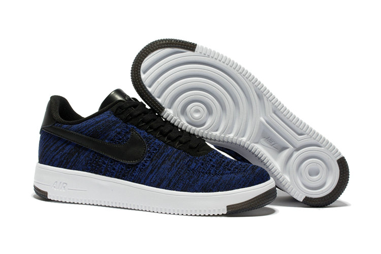 New 2018 Nike AF1 Cheap Wholesale x Nike Air Force 1 Low Ultra Flyknit Game Blue - www.wholesaleflyknit.com