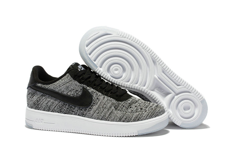 New 2018 Nike AF1 Cheap Wholesale x Nike Air Force 1 Low Ultra Flyknit Midnight Fog Silt Red-Ivory-String - www.wholesaleflyknit.com