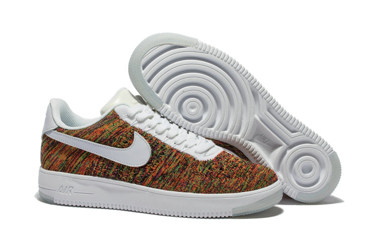 New 2018 Nike AF1 Cheap Wholesale x Nike Air Force 1 Ultra Flyknit Low in Multicolor - www.wholesaleflyknit.com