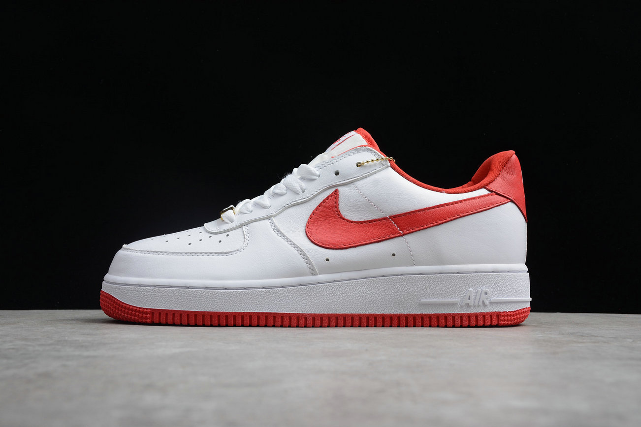 Cheap Wholesale Nike Air Force 1 AQ5107-100 University Red White- www.wholesaleflyknit.com