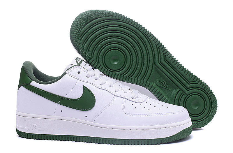 Wholesale Cheap Nike Air Force 1 Retro Low Mens Grass Green White - www.wholesaleflyknit.com