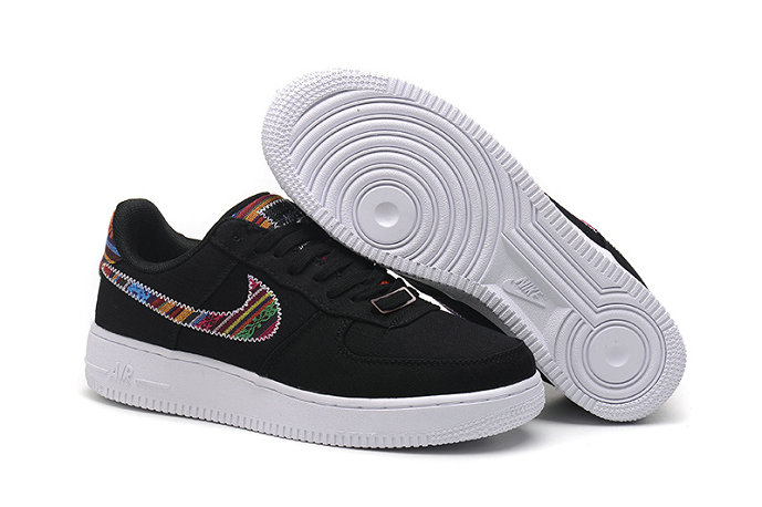 Wholesale Cheap Nike Air Force One Nike AF1 07 Mens Black White - www.wholesaleflyknit.com