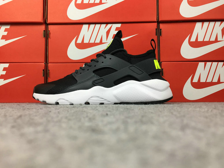 Wholesale Cheap Nike Air Huarache Ultra Run ID 787410-373 Grey Black White - www.wholesaleflyknit.com
