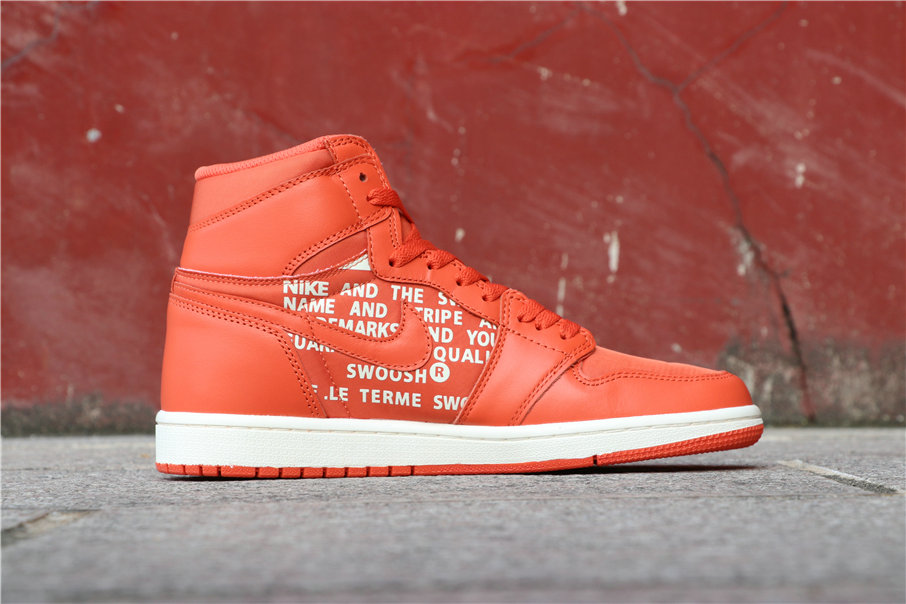 Cheapest Wholesale Nike Air Jordan 1 High OG Vintage Coral 555088-800 - www.wholesaleflyknit.com