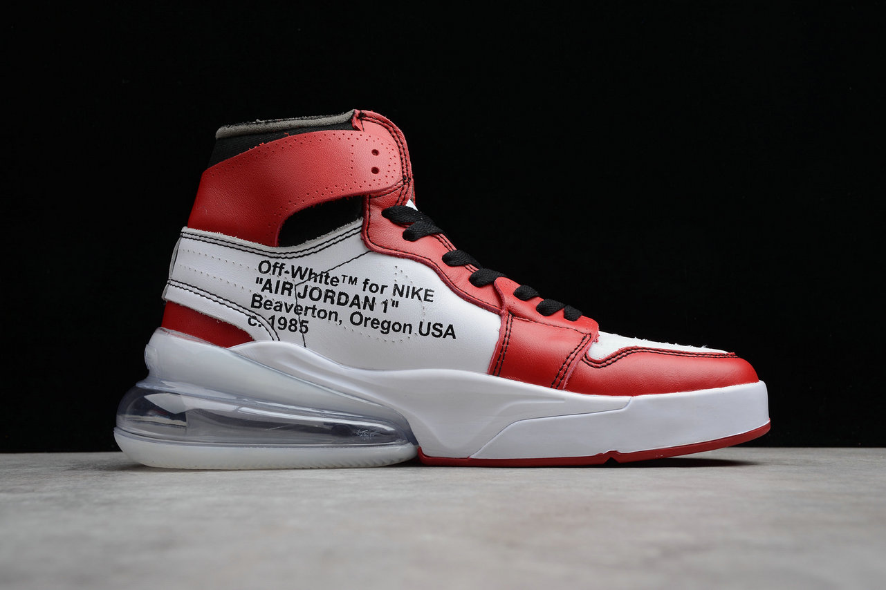 Cheap Wholesale Nike Air Jordan 1 OFF-WHITE Air Max 270 NRG AA3834-101 Red Rice Yellow Black Rouge Jaune Noir- www.wholesaleflyknit.com