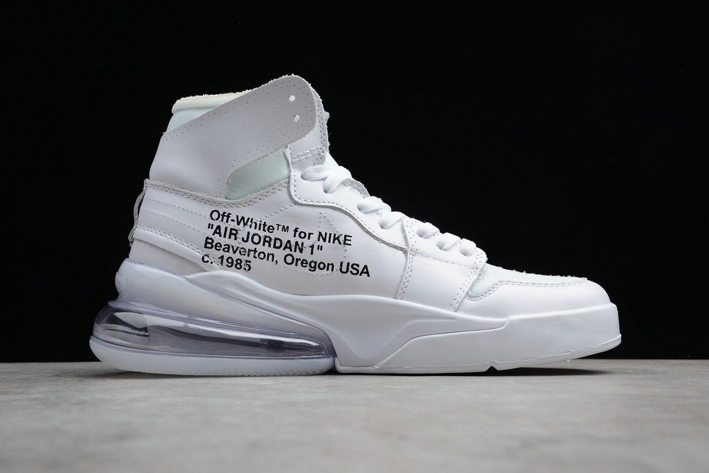 Cheap Wholesale Nike Air Jordan 1 OFF-WHITE Air Max 270 NRG AQ0818-100 White Blanc- www.wholesaleflyknit.com