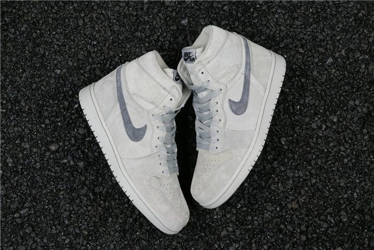 Cheapest Wholesale Nike Air Jordan 1 Retro High OG Light grey dark grey 555088-167 - www.wholesaleflyknit.com
