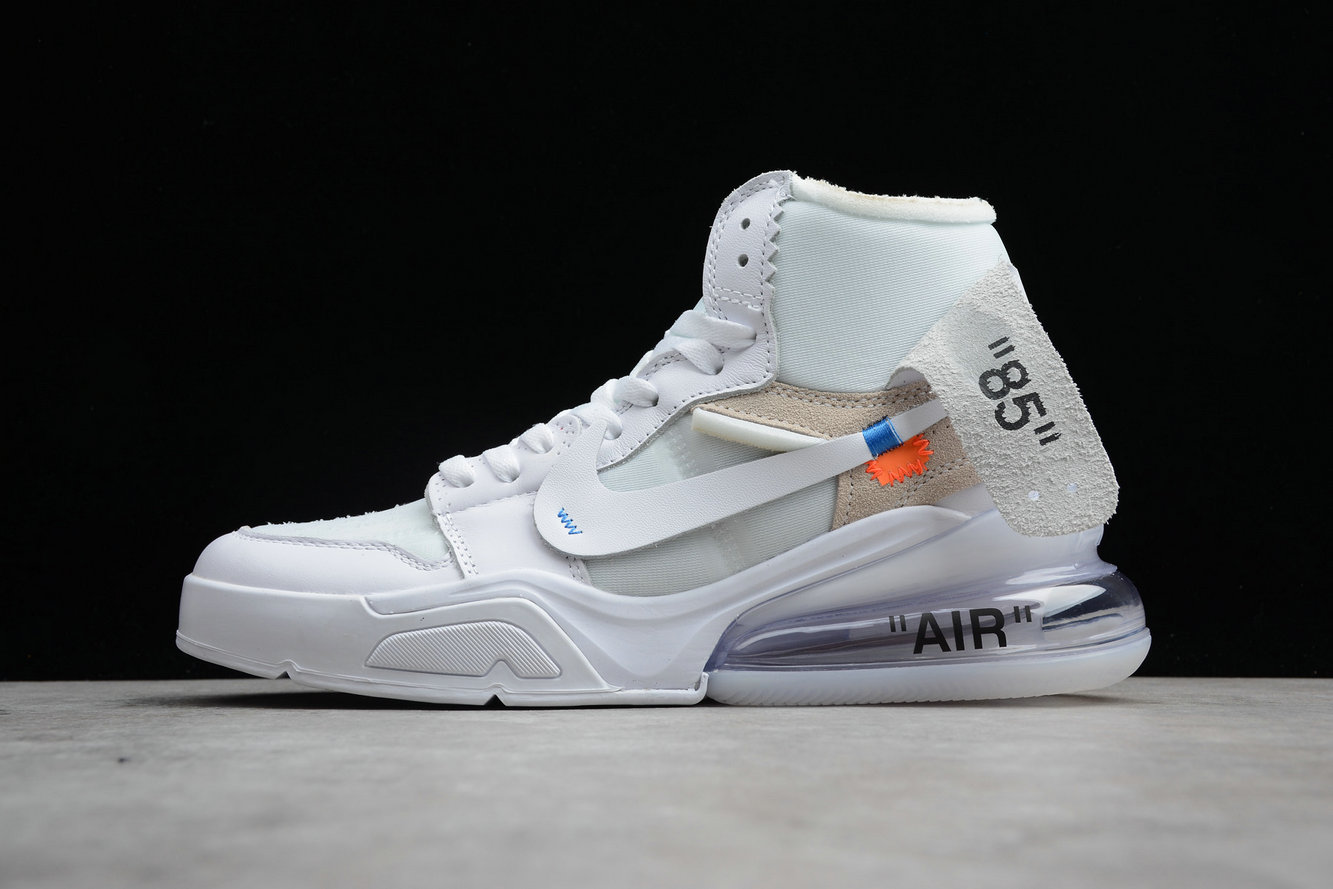 Cheap Wholesale Nike Air Jordan 1 x OFF-WHITE NRG White Blanc- www.wholesaleflyknit.com