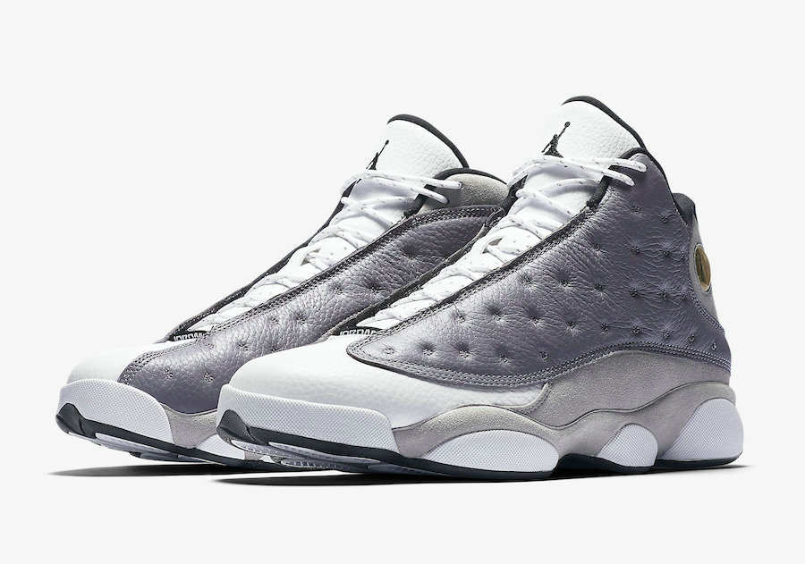 Cheapest Wholesale Nike Air Jordan 13 414571-016 Atmosphere Grey White-University Red-Black - www.wholesaleflyknit.com