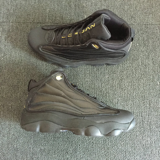 Cheap Wholesale Nike Air Jordan 13.5 Pro Strong Total Black- www.wholesaleflyknit.com