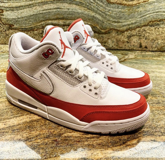 Cheapest Wholesale Nike Air Jordan 3 Tinker Air Max 1 White University Red-Neutral Grey CJ0939-100 - www.wholesaleflyknit.com