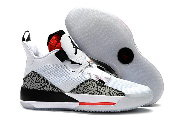 Cheapest Wholesale Nike Air Jordan 33 Fire Red White Fire Red-Black For Sale - www.wholesaleflyknit.com