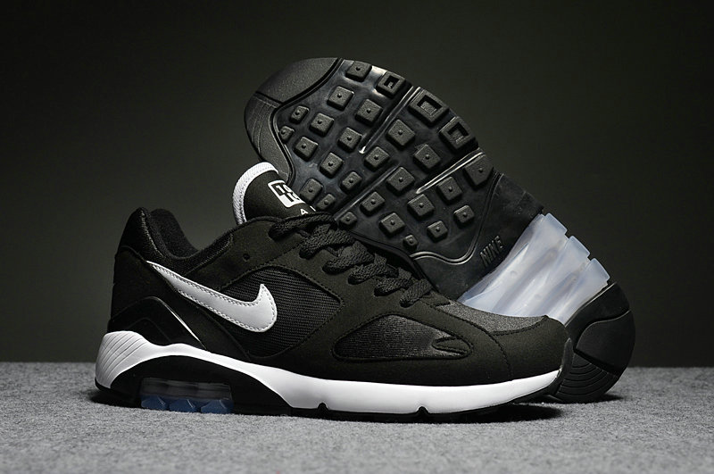 Wholesale Cheap Nike Air Max 180 Mens Black White - www.wholesaleflyknit.com