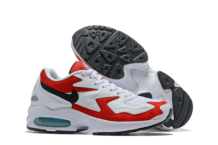Cheap Wholesale Nike Air Max 2 Light Red White- www.wholesaleflyknit.com