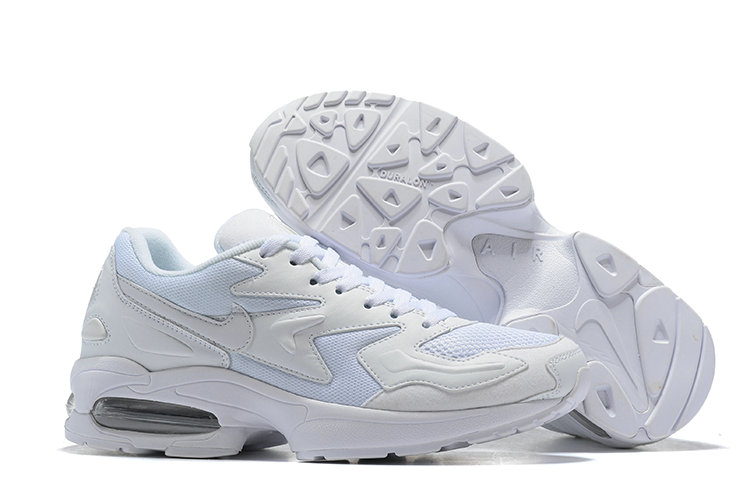 Cheap Wholesale Nike Air Max 2 Light White- www.wholesaleflyknit.com