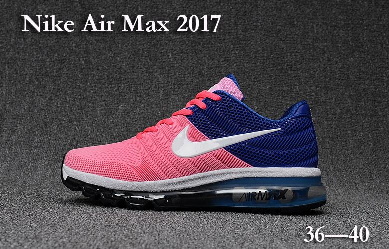 Wholesale Cheap Nike Air Max 2017 Blue Pink Grey Black Orange Womens - www.wholesaleflyknit.com