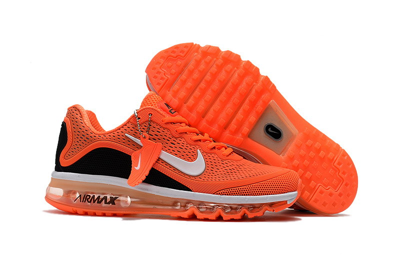 Wholesale Cheap Nike Air Max 2017 Mens Black Red Orange Running Shoes - www.wholesaleflyknit.com