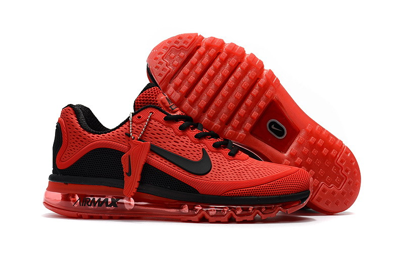 Wholesale Cheap Nike Air Max 2017 Mens Fire Red Black Running Shoes - www.wholesaleflyknit.com