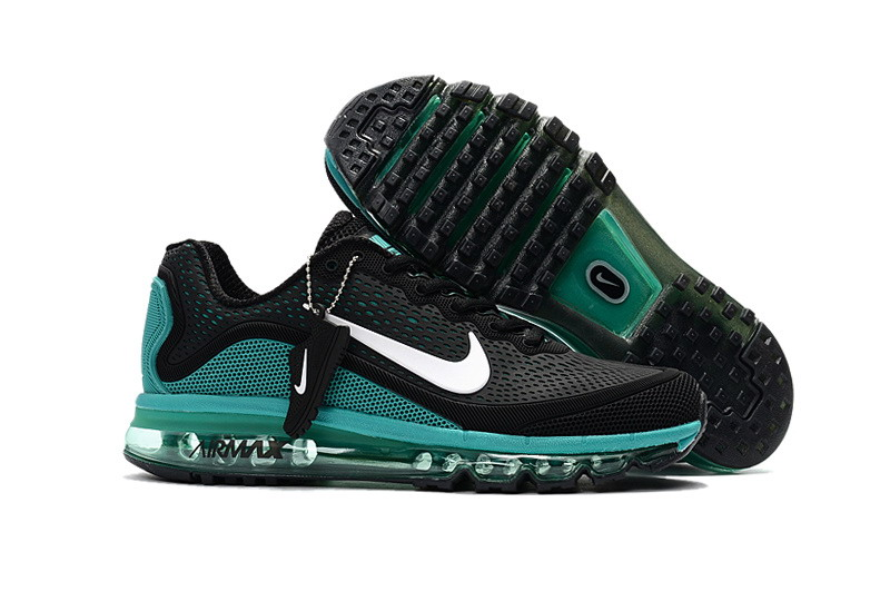Wholesale Cheap Nike Air Max 2017 Mens Ocean Green Black Running Shoes - www.wholesaleflyknit.com