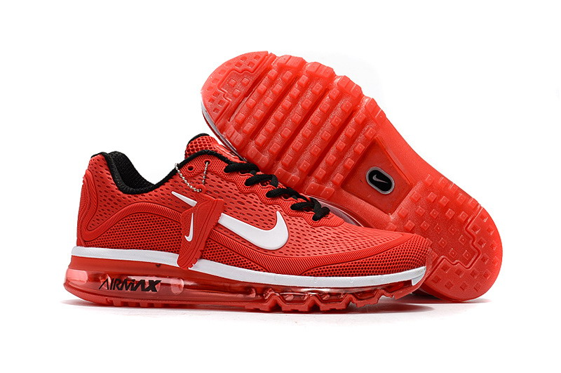 Wholesale Cheap Nike Air Max 2017 Mens Red White Black Running Shoes - www.wholesaleflyknit.com