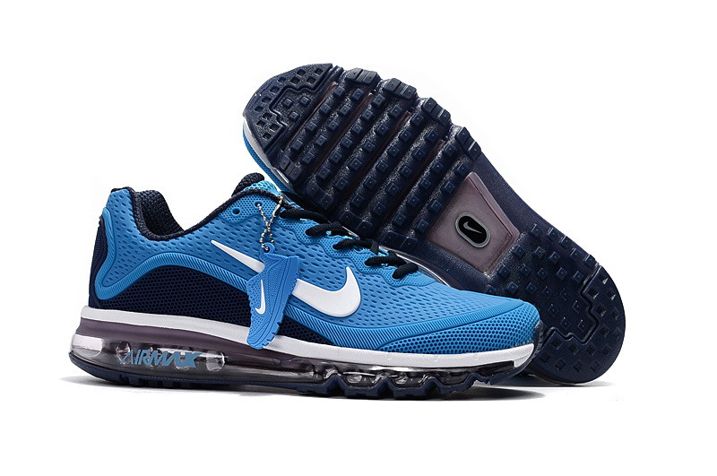 Wholesale Cheap Nike Air Max 2017 Mens Royal Blue Black Running Shoes - www.wholesaleflyknit.com