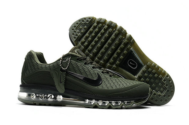 Wholesale Cheap Nike Air Max 2017 Mens Rubber Patch Army Green Black - www.wholesaleflyknit.com