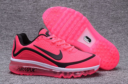 Wholesale Cheap Nike Air Max 2017 Nanometer Womens Pink Black White - www.wholesaleflyknit.com
