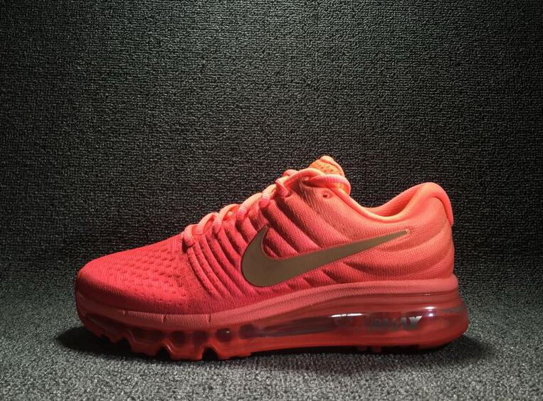 Wholesale Cheap Nike Air Max 2017 Orange Mtlc Red Bronze Womens - www.wholesaleflyknit.com