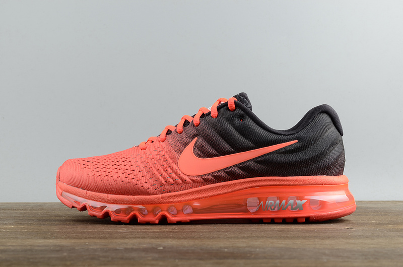 Wholesale Cheap Nike Air Max 2017 Shoes Bright Crimson Total Crimson Mens - www.wholesaleflyknit.com