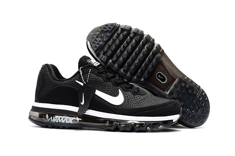 Wholesale Cheap Nike Air Max 2017 Womens Black White Running Shoes - www.wholesaleflyknit.com