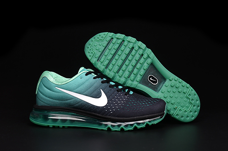 Wholesale Cheap Nike Air Max 2017 Womens Grass Green Black White - www.wholesaleflyknit.com
