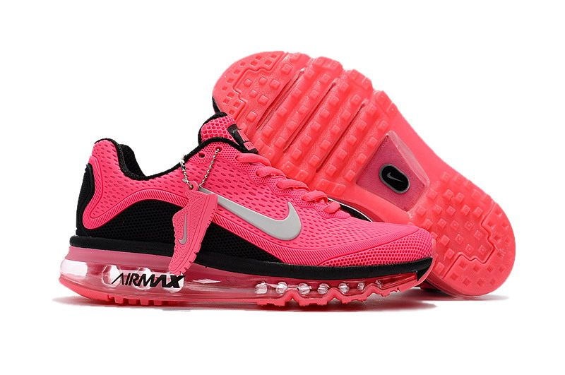Wholesale Cheap Nike Air Max 2017 Womens Pink Black Grey Running Shoes - www.wholesaleflyknit.com
