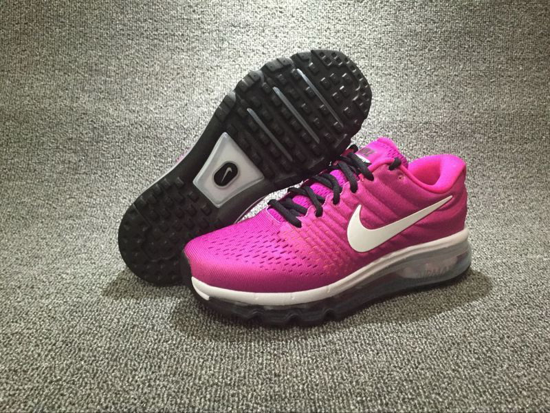 Wholesale Cheap Nike Air Max 2017 Womens Purple Black White Running Shoes - www.wholesaleflyknit.com